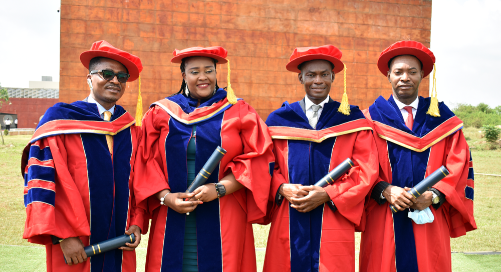 SMC Awards Four PhD Degrees at the 17th Convocation Ceremony of the Pan-Atlantic University.